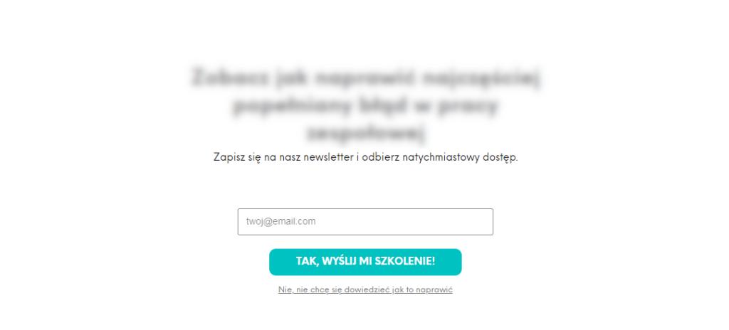 Email marketing aRODO - dowód zgody subskrybenta