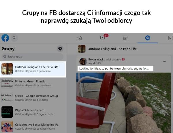 content marketing igrupy naFacebooku